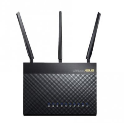 ASUS Wireless-AC1900 Dual-Band Wi-Fi Router - Black Router Image
