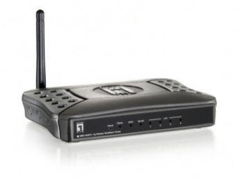 LevelOne WBR-3406TX Router Image