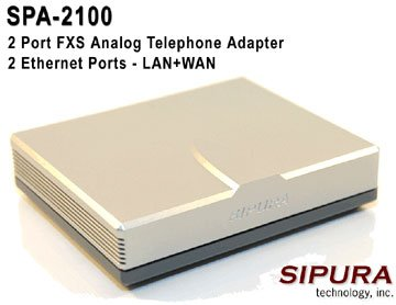 Linksys SPA-2100 Router Image