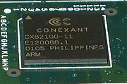 Conexant ACCESS RUNNER ADSL CONSOLE PORT  3.27 3.27 Router Image