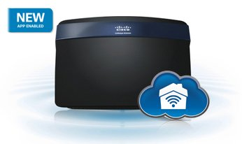 Cisco Linksys Smart Wi-Fi Router N750 Smooth Stream, EA3500 Router Image