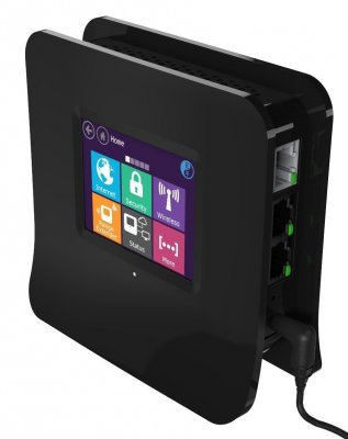 Secure Computing Securifi Almond (3 Minute Setup) Touchscreen Wireless Route Router Image