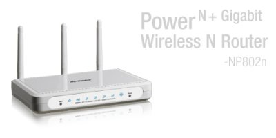 Netcomm NP802n Router Image
